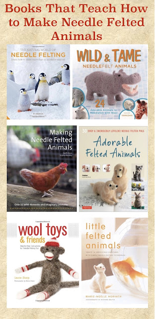 Best books to learn how to needle felt animals.