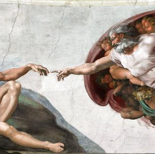 """В Москве открылась интермедийная выставка """"Микеланджело. Сотворение мира"""""""