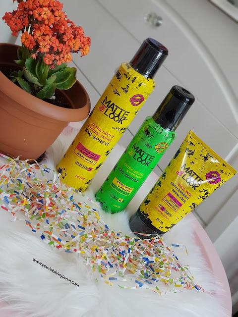 matte look saç bakım ürünleri