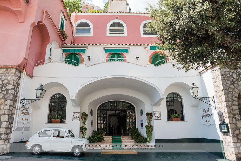 Front of Hotel Poseidon