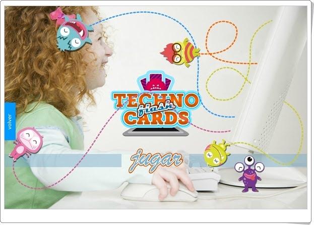 """""""Techno flash cards"""" (Juego de Nuevas Tecnologías de Primaria)"""
