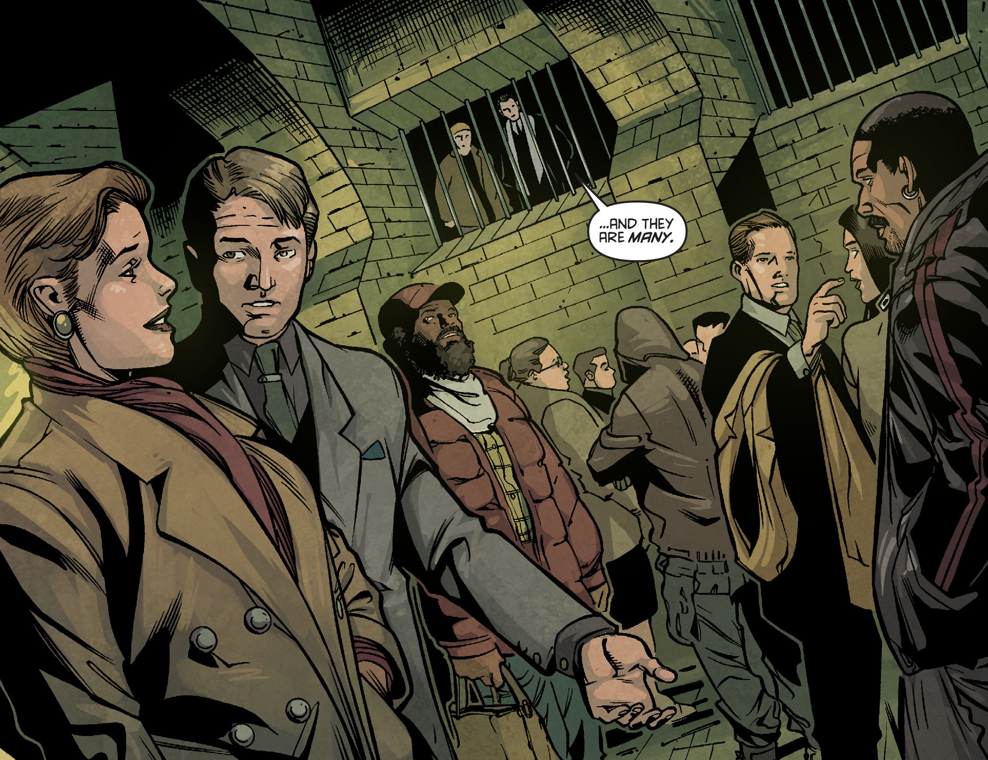 Read online Arrow: Season 2.5 [I] comic -  Issue #2 - 21
