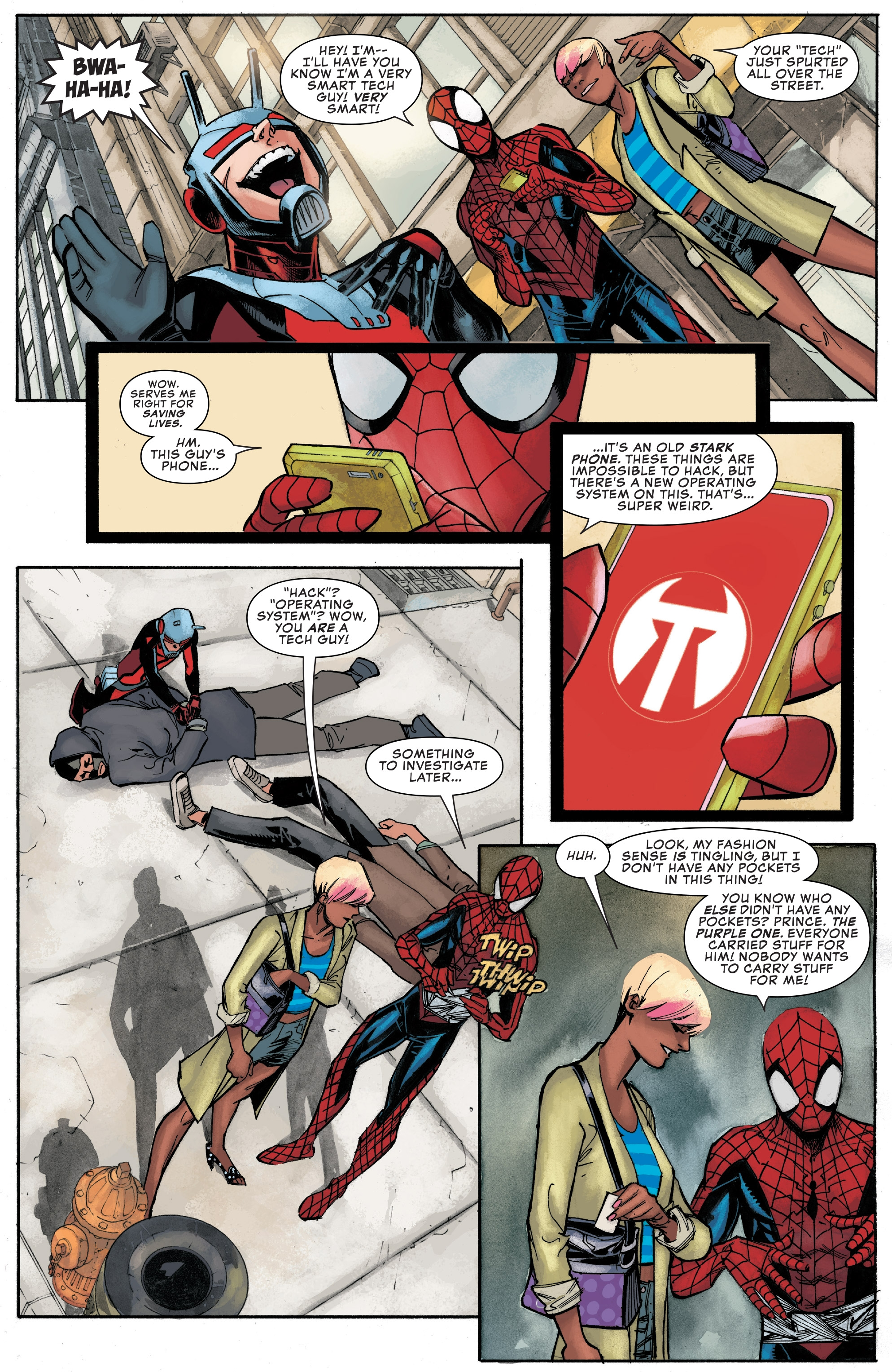 Read online Peter Parker: The Spectacular Spider-Man comic -  Issue #1 - 6