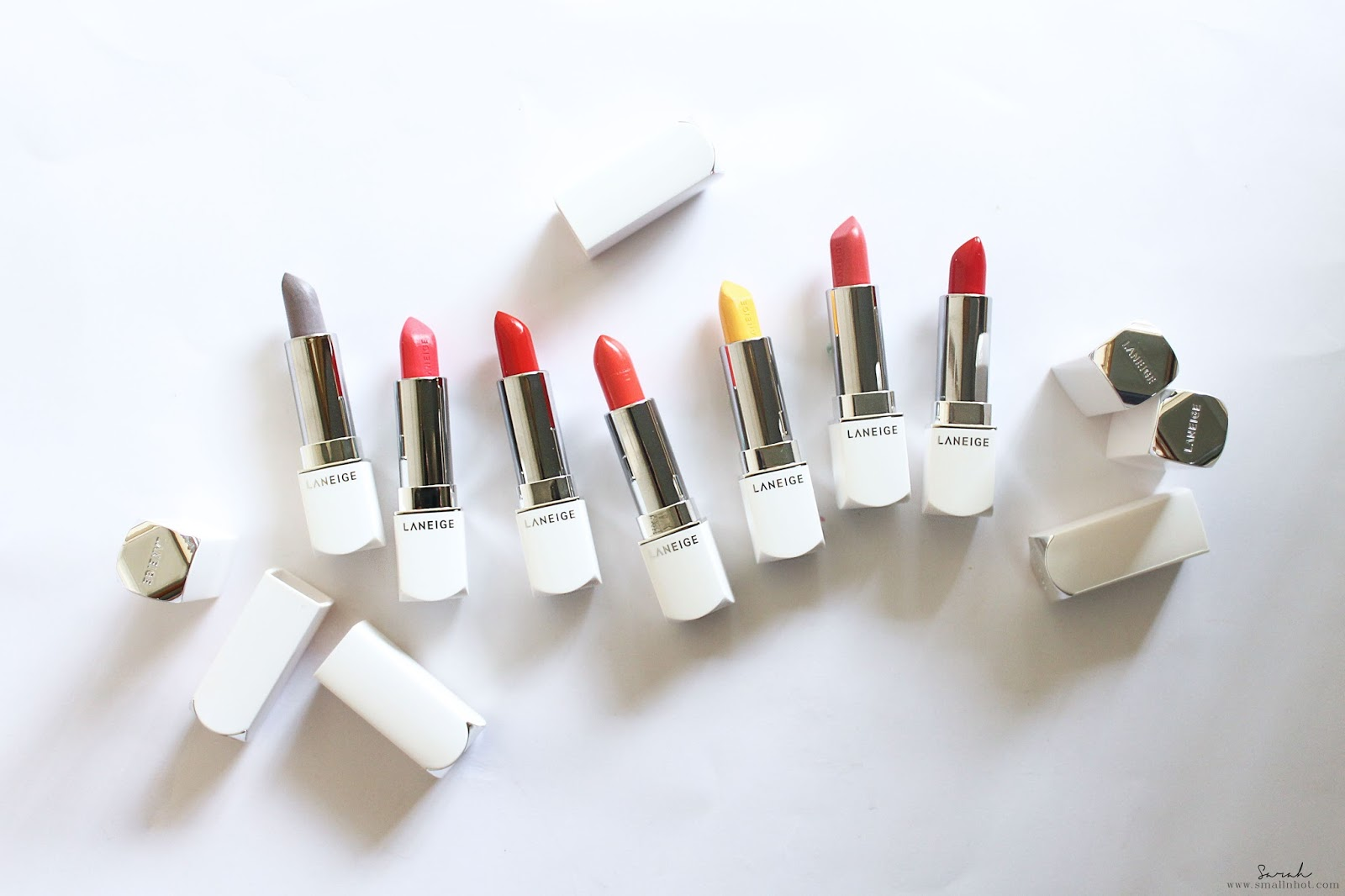Laneige New Silk Intense Lipstick (Swatches & Review) : A