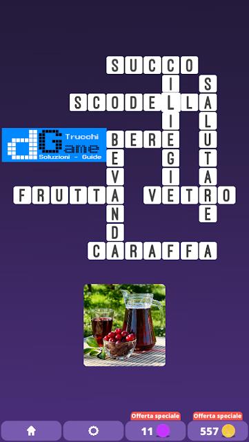Soluzioni One Clue Crossword livello 20 schemi 5 (Cruciverba illustrato)  | Parole e foto