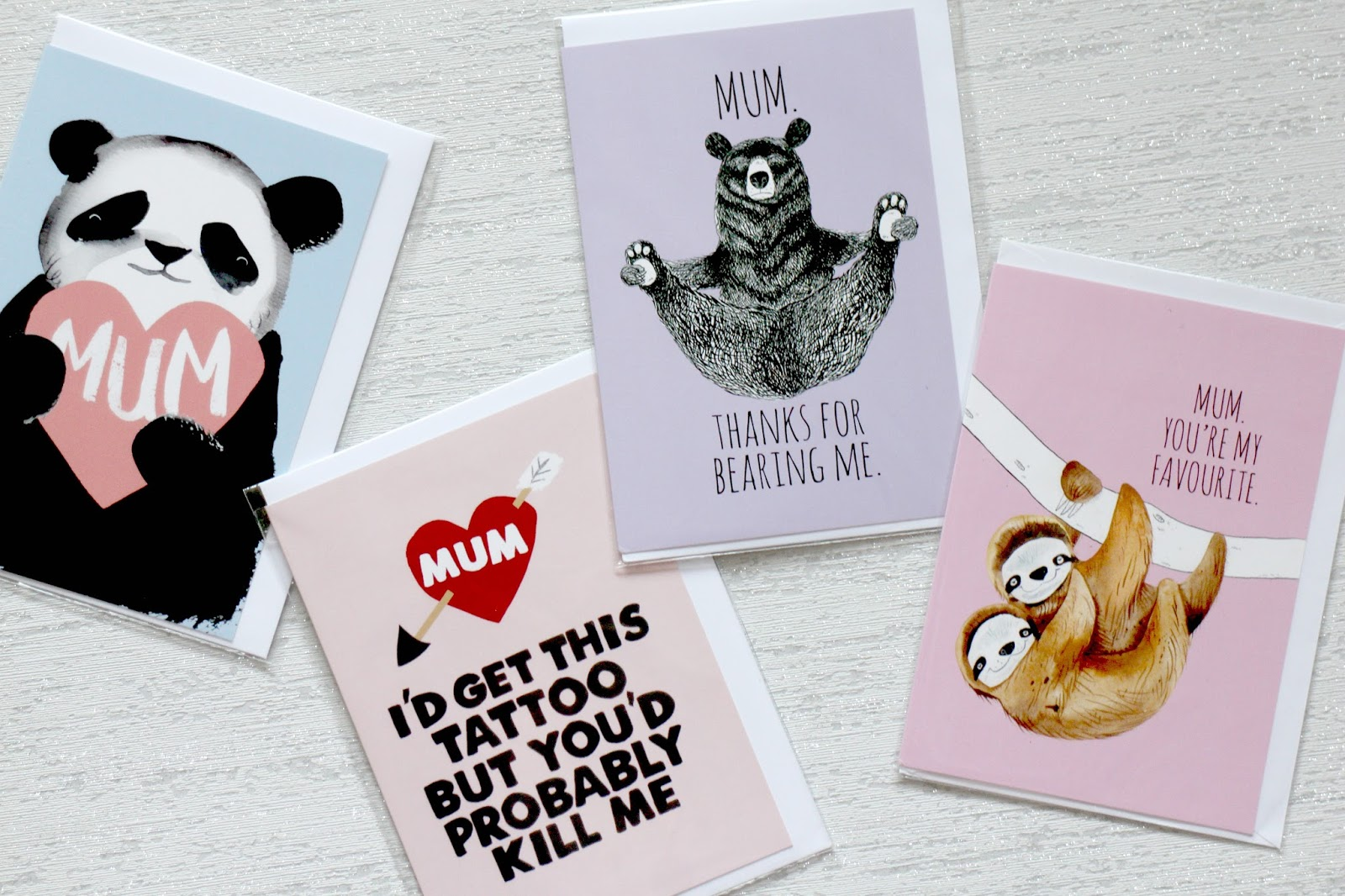 Fun and unique Mother's Day cards