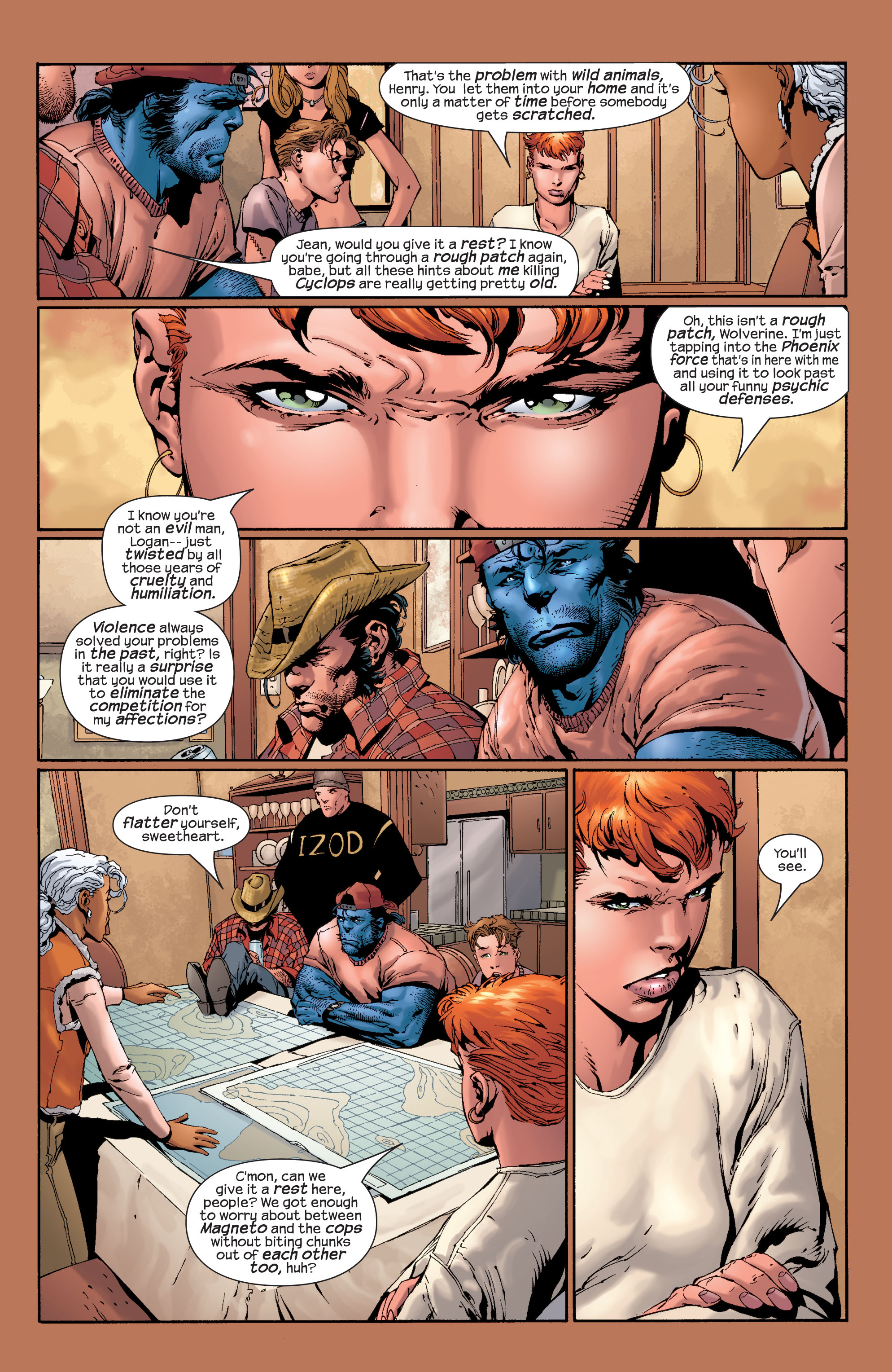 Read online Ultimate X-Men comic -  Issue #28 - 17