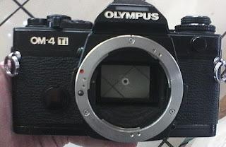 bagian depan kamera