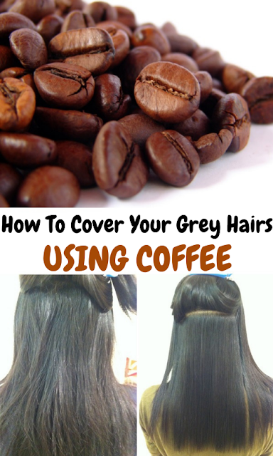How To Cover Your Grey Hairs Using Coffee