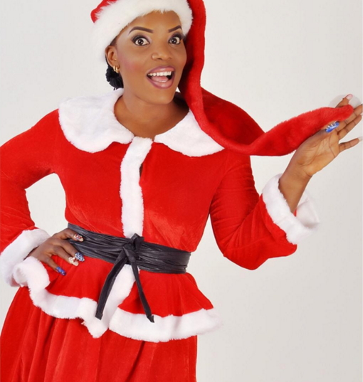 empress njamah christmas shoot