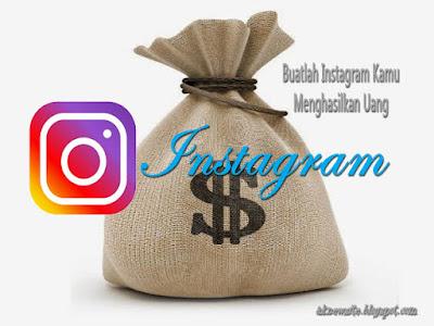Cara Hasilkan Uang di Akun Instagram