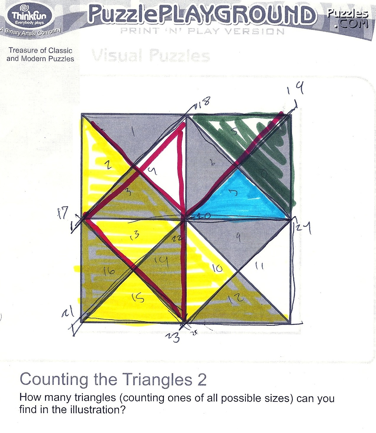 How Many Triangles Are There In This Diagram Switch Wiring Dai 323 Visual Design Literacy Kieran Brobst