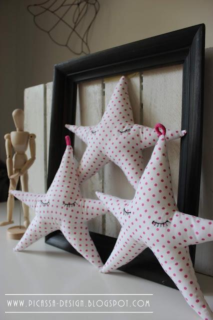Dekoracje do pokoju dziecka – gwiazdki