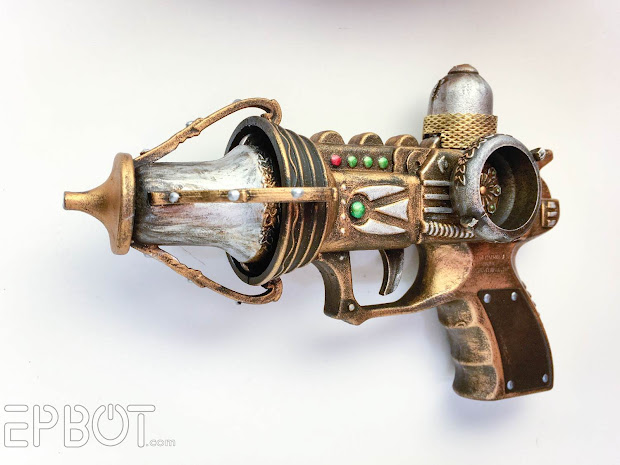 Epbot Quick Craft 2 Steampunk Raygun