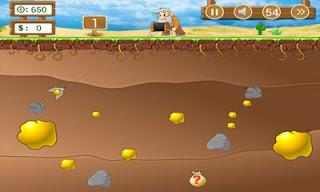 لعبة جمع الذهب اون لاين لعبة مباشر 2017 - Gold Miner