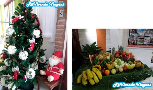 Natal no Arraial d'Ajuda Hostel
