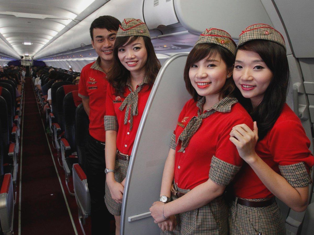 rủi ro, của nghề tiếp viên hàng không là đây
