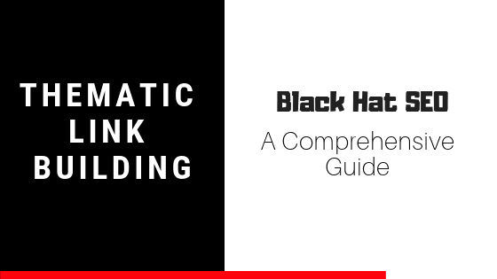 Black Hat SEO Case Study: Thematic Link Building - Spell Out