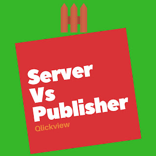 Qlikview Server Vs Publisher