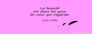 Une photo avec citation sur la beauté