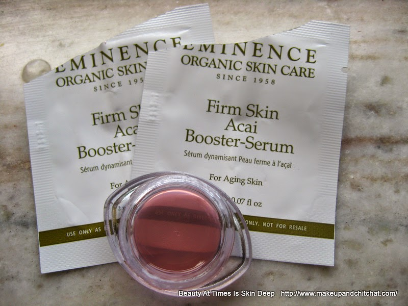 Review of Eminence Organic Skin Care Firm Skin Acai Booster-Serum for Aging skin