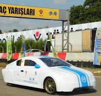 Yerli otomobil Milat 1453 yarıştan yarışa koşuyor