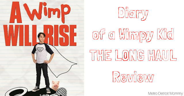 Diary of a Wimpy Kid: The long haul review, movies, review, Diary of a wimpy kid
