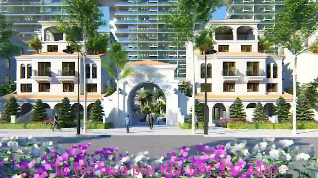 Thiết kế Biệt thự Sunshine Crystal River Sky Villas Ciputra Tây Hồ