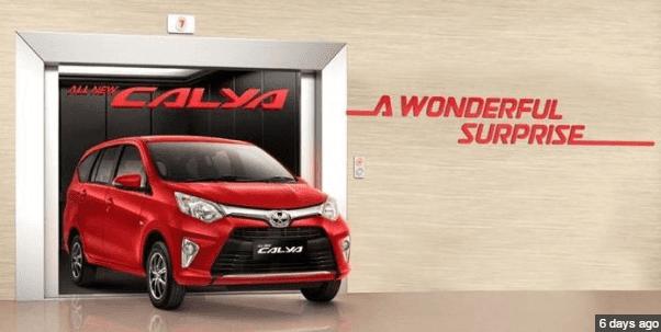 Toyota Calya 1,2 G A/T
