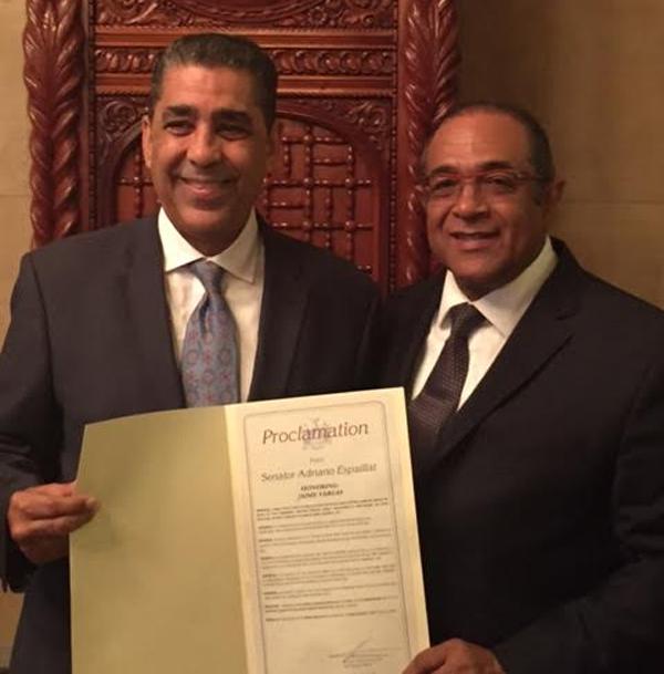 Senado Estatal de NY reconoce al prestante empresario y ex cónsul en Japón Jaime Vargas