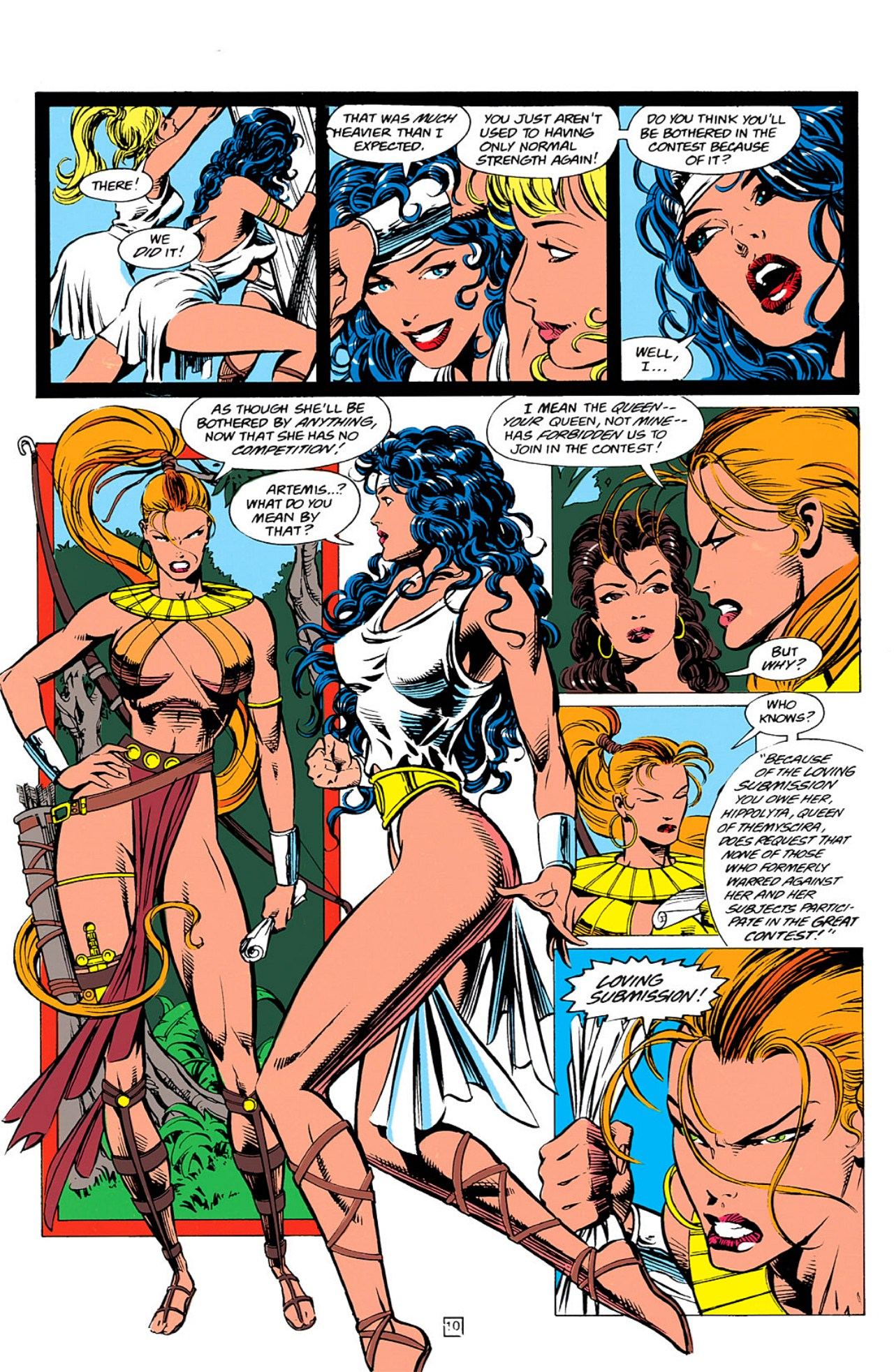 Read online Wonder Woman (1987) comic -  Issue #0 - 11