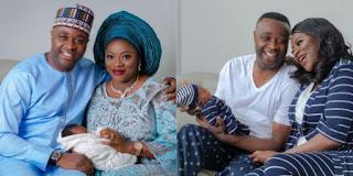 Femi Adebayo and Wife