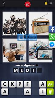 4 Immagini 1 Parola soluzione livello 91