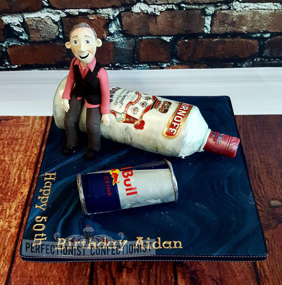 The Perfectionist Confectionist Aidan Smirnoff Red Bull 50th