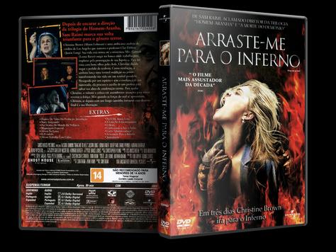 Capa DVD Arraste-me Para o Inferno