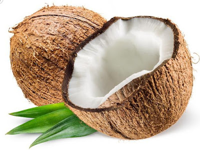 Coconut is rich in carbohydrates, proteins, fibers. The vitamins contained in the coconut are: vitamin A, B1, B2, B5, B6, E, C.     The mineral composition in the coconut includes: iron, sodium, calcium, magnesium, phosphorus, potassium, chlorine, selenium.