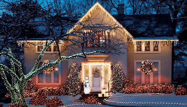 Novedosas Fachadas Y Exteriores Para Navidad Dise 241 O De
