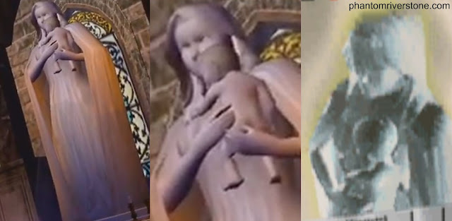 The statue in the Thousand White Convent vs the Dobuita poster image.