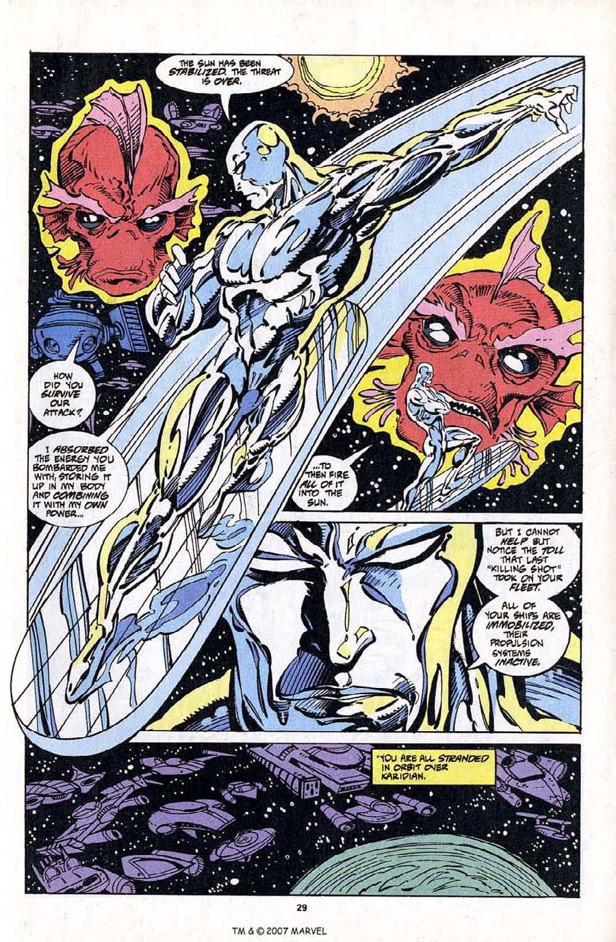 Silver Surfer (1987) Issue #103 #111 - English 31