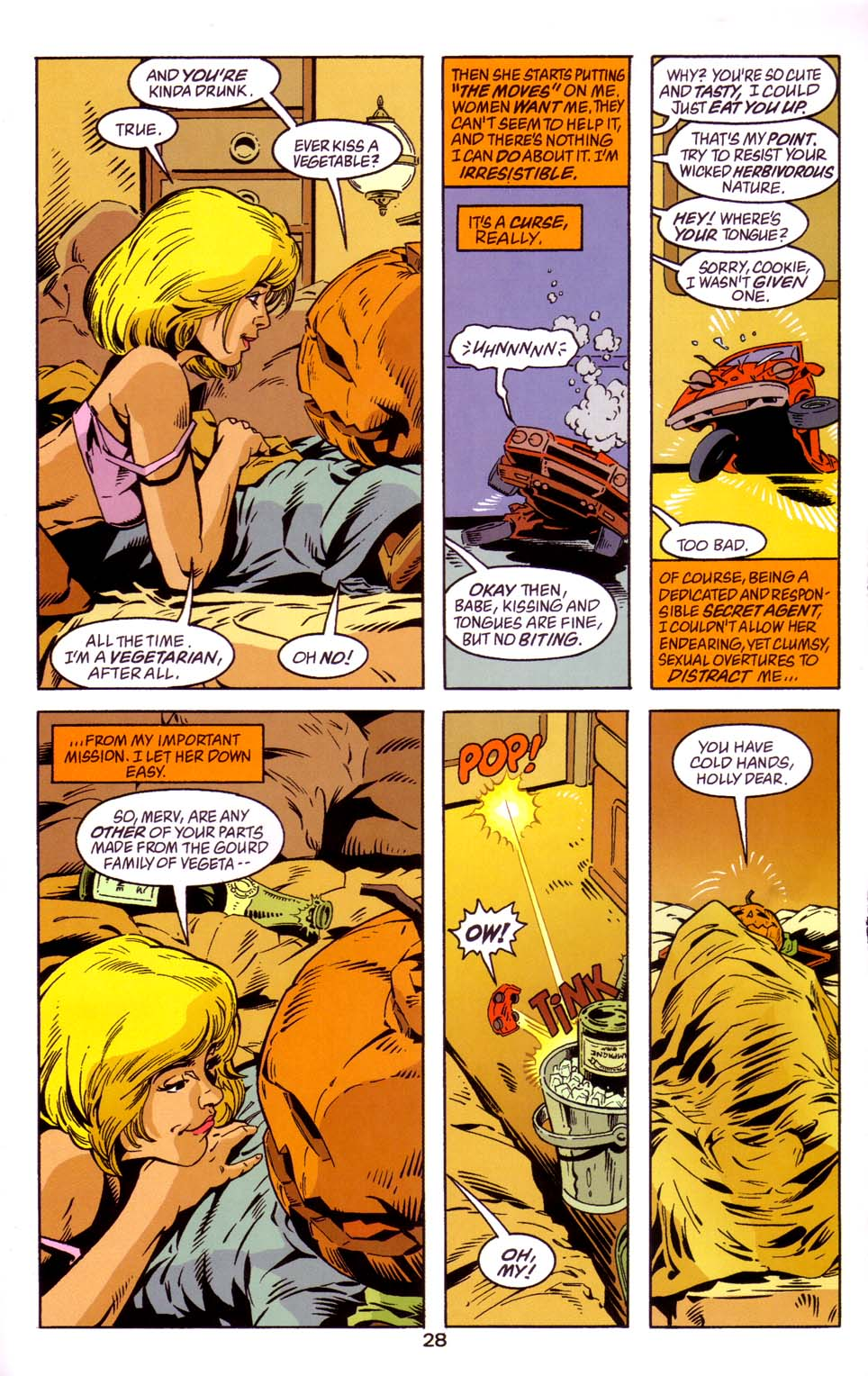 Read online Merv Pumpkinhead, Agent of D.R.E.A.M. comic -  Issue # Full - 29