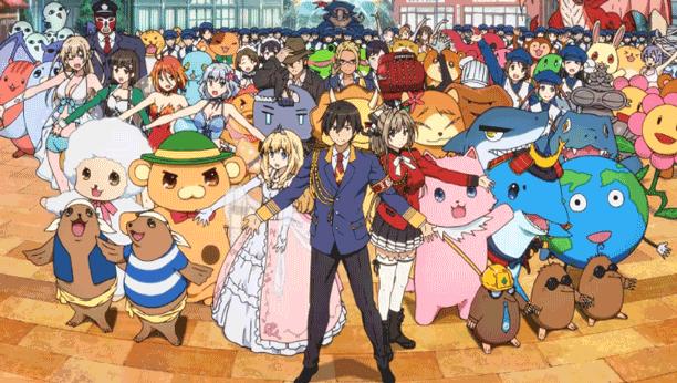 Amagi Brilliant Park - Daftar Anime Mirip Charlotte