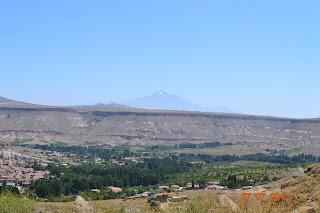 vulcao Ercyes - Capadocia Turquia