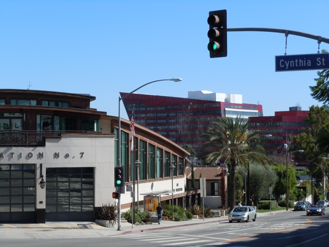 Pacific Design Center Red