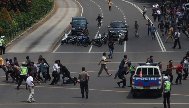 Serangan  Didalangi ISIS Indonesia