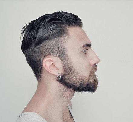 Potongan Rambut Undercut Cowok Terbaru Dengan Brewokan Style Rambut