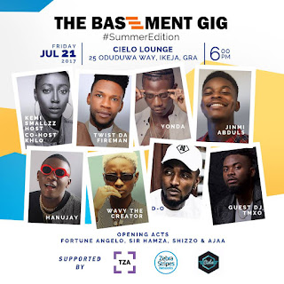 [EVENT] THE BASEMENT GIG SET TO STAGE ITS JULY EDITION