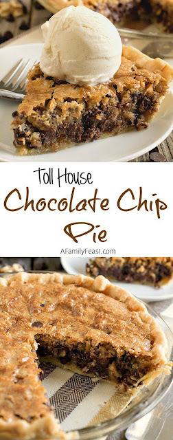 Toll House Chocolàte Chip Pie