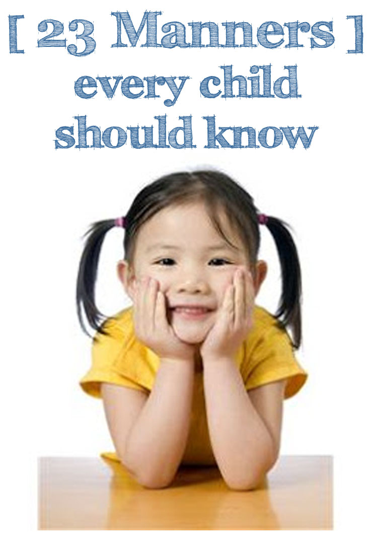 what every child should know