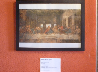 Pinacothèque Jesse Guelfi - Aula particular de inglês com Arte - The Last Supper