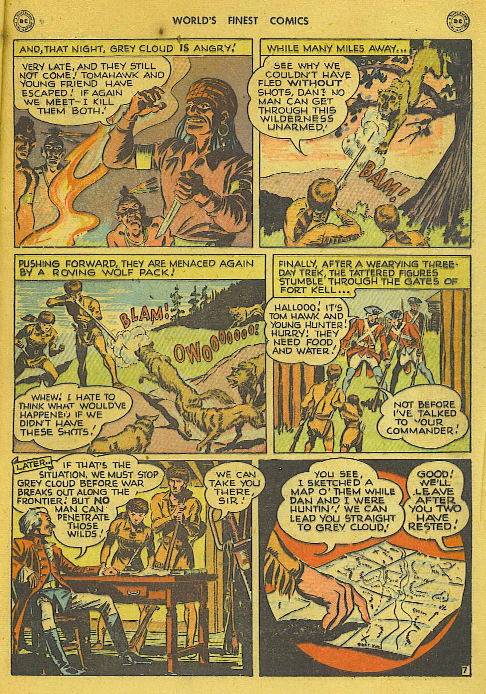 Read online World's Finest Comics comic -  Issue #34 - 23